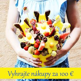 Vyhrajte nákupy za 100 €