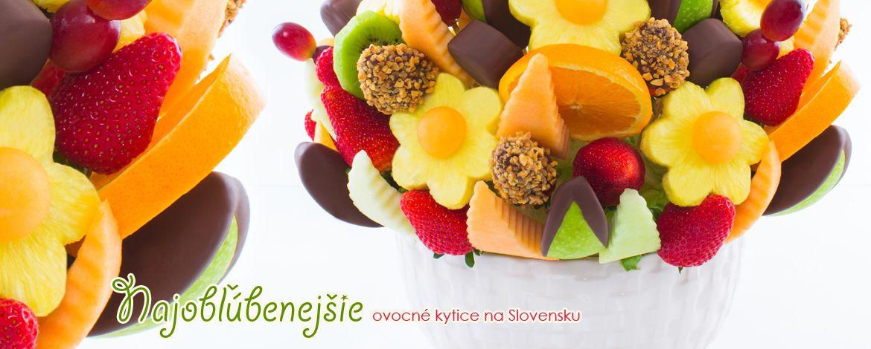 Najobľúbenejšie - Ovocné kytice na Slovensku