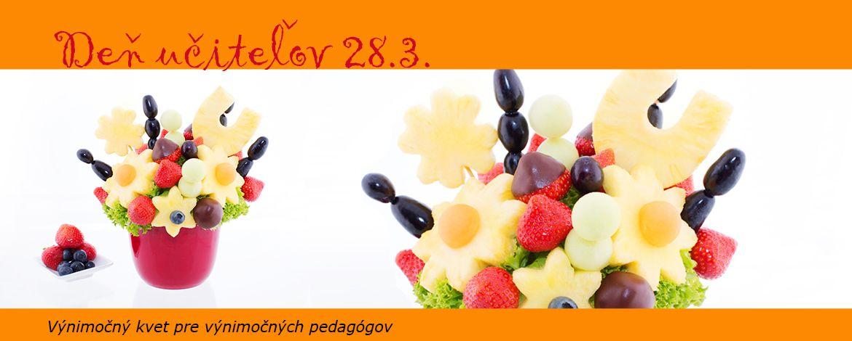 Deň učiteľov - Výnimočný kvet pre výnimočných pedagógov