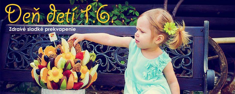 Deň detí - Lákavé zdravé kytice