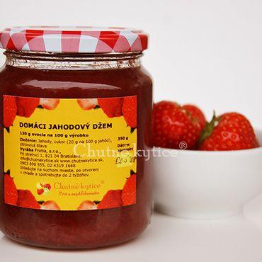 Domáci jahodový džem