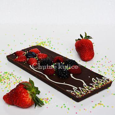 Kvetinková čokoláda