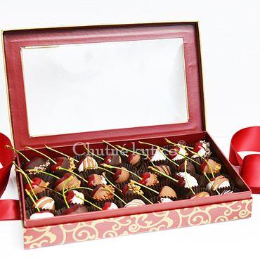 Čerešne v čokoláde