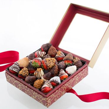 Jahody v čokoláde