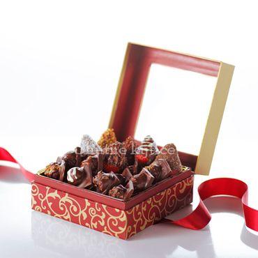Lesné plody v čokoláde